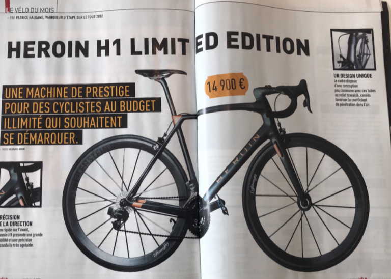 Velo Magazine - Essai H1 Limited Edition 2018