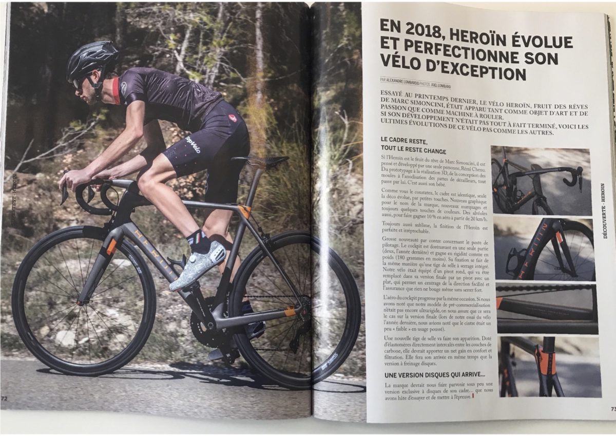 Top Velo - Essai HR 2018