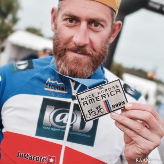 Arnaud Manzanini - Cycliste Ultra Distance