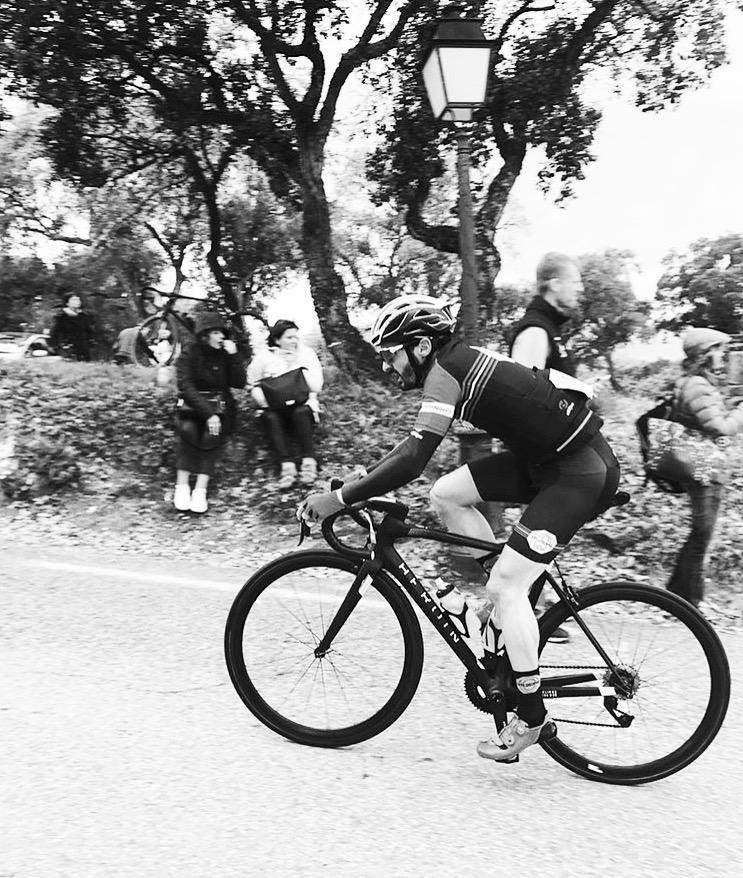 Marc Rollini - Cycliste amateur